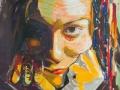 Self-portrait by Adela Tavares